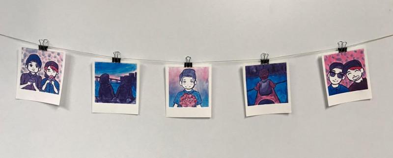 Lys DelCampo, Monoprints