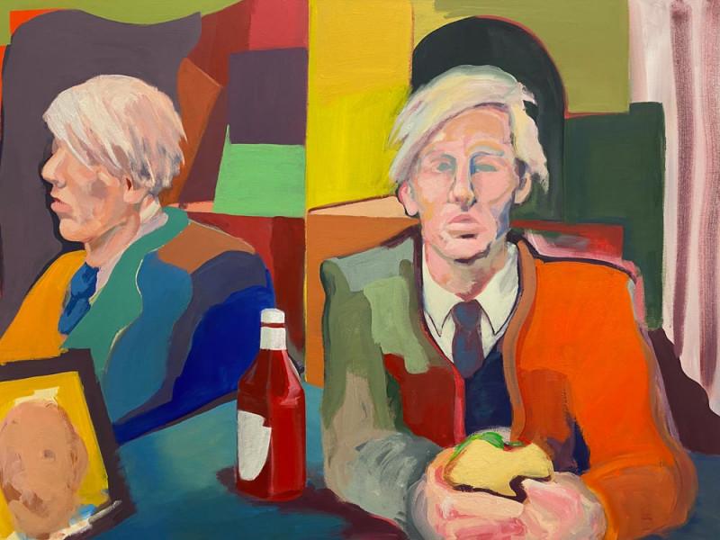 Matthew Rucki, Acrylic on canvas