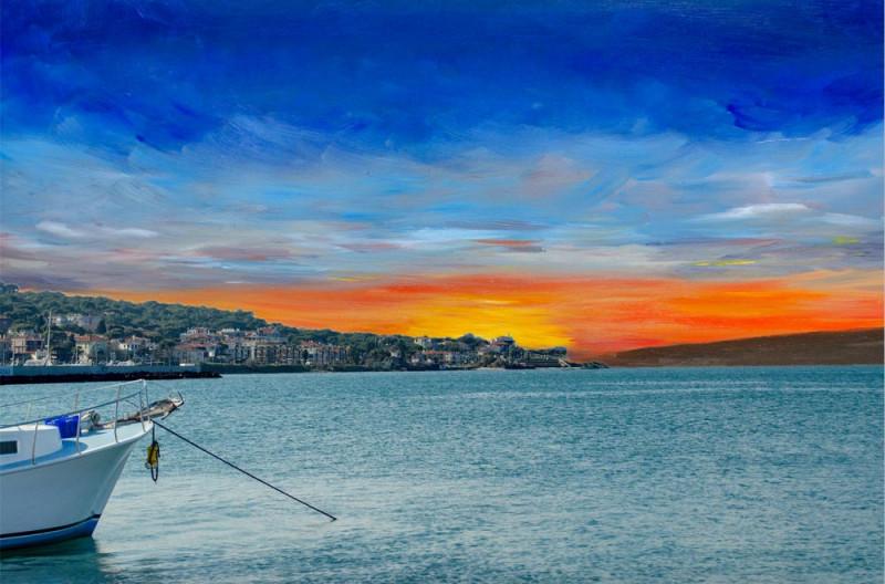 Yurtsever Zeynep, mixed-media photohraphic alteration