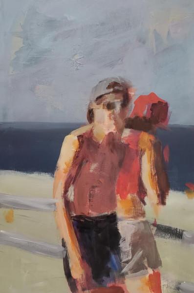 Jared Adams, oil