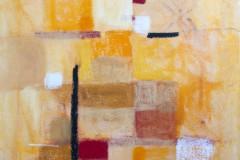 "Adriana Prat, Friend, ""Companion Dissolving Grid III"", 2012, Paintings, 20x16, $800, 50%"