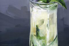 "Alyssa Watters, Alumni, ""Cucumber Cooler"",  2018, Paintings, 10x6, $250, 100%"