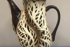 Ceramic Pitcher/Artist Led Tour of Cape Ann Museum, Diane K.W., Priceless