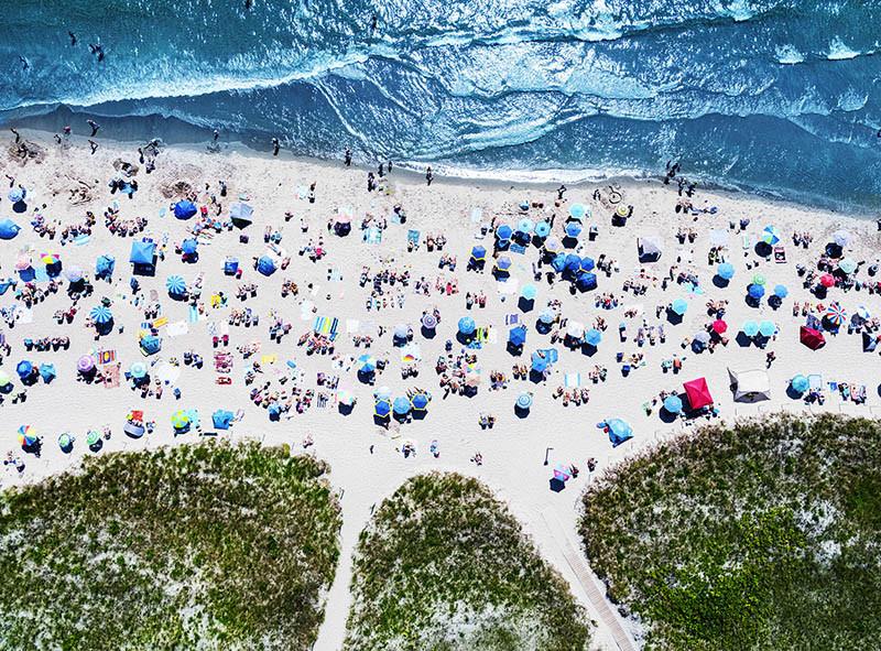 Michael Prince - Good Harbor Beach - 2018 - Archival Digital Print - 16x20 - $1000