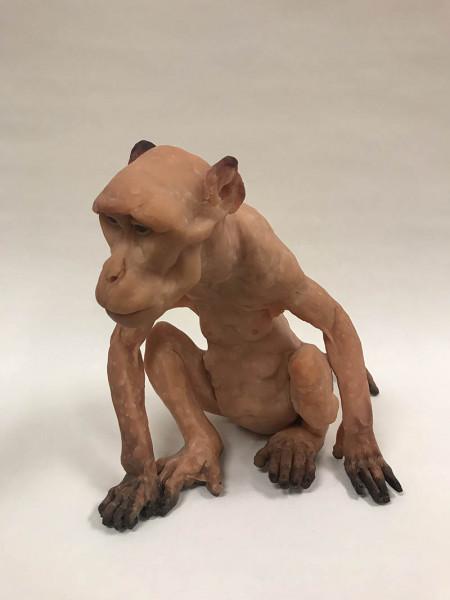 Chelsea Sams - Kayla - 2018 - polymer clay, acrylic paint - 7x6x8 - $400