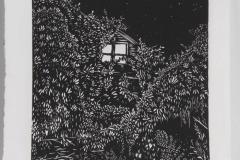 Cassandra VanSaun - Hidden - 2018 - Relief - 13x13 - $200