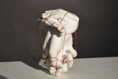 Gretchen Darche - Memory - 2018 - Plaster and string - 7x4x4 - $200