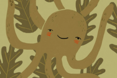 Jenn Jones - Octodude - 2019 - Digital Illustration - 17x11 - $100