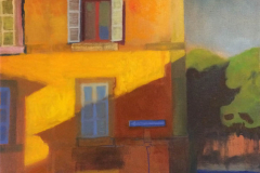 Jon Bolles - Via Cairoli, Viterbo, Italy - 2018 - Oil on canvas - 20x16 - $1250