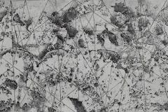 Thaddeus Beal - Carbon Hypostasis 65 - 2011 - charcoal on paper - 15x41 - $1500 - Courtesy of Soprafina Gallery, Boston