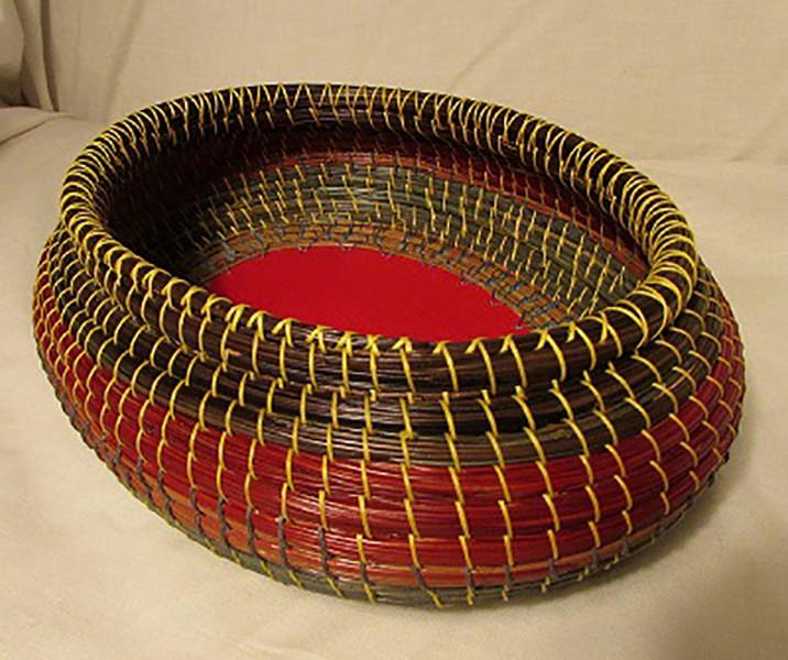 Amberlynn Narvie (Alumni)- Longleaf Pine Needle Basket $350