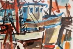 Balf, Oliver - Gloucester Fishing Boat - 1962