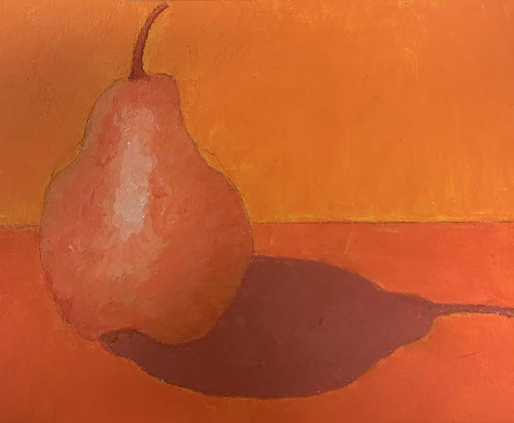 Pear in Orange
