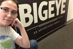 Rebecca Jones, Graphic Design Intern at BIGEYE Advertising Agency
