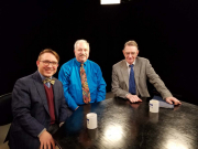 Bevcam with Elliott Margolis (blue) and George Binn