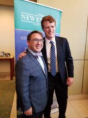 Kurt Steinberg with Congressman Joseph Kennedy