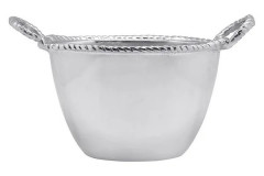 Rope Oval Small Ice Bucket, $98