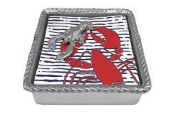 Lobster Rope Napkin Box, $49