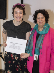 Darcie Blake and Laura Ives - Lawrence M. and Frances Swan Smith Scholarship