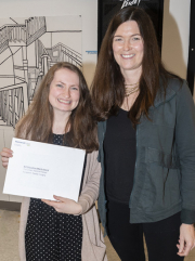 Caddy Cicogna and Patricia Palmer - Art Education Merit Award