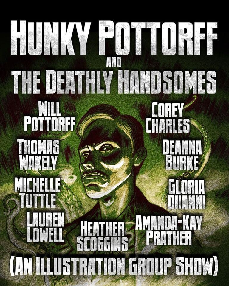 Hunky Pottorff and The Deathly Handsomes