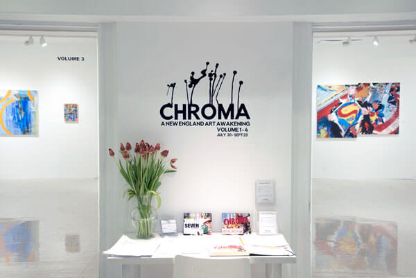 "Exhibition ""Chroma"" in the Main Gallery"