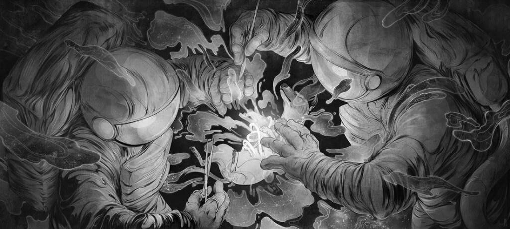Corinne Reid '11 illustration