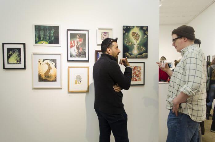 301 Gallery Illustration Show