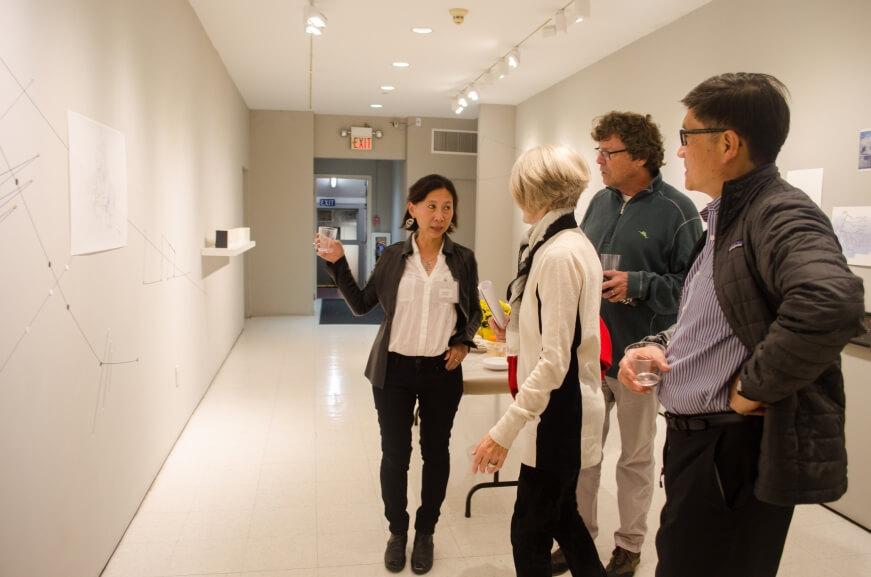 Yu-Wen Wu Proximities Opening Reception