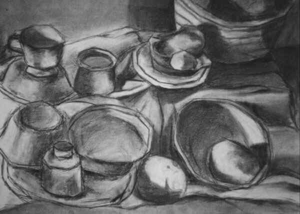 Beginning Drawing: Cubism Boxes