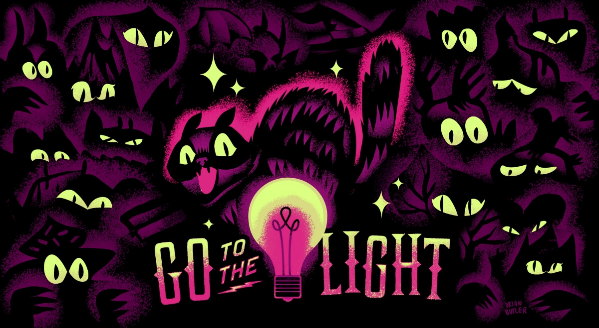 Go to the Light Showcard