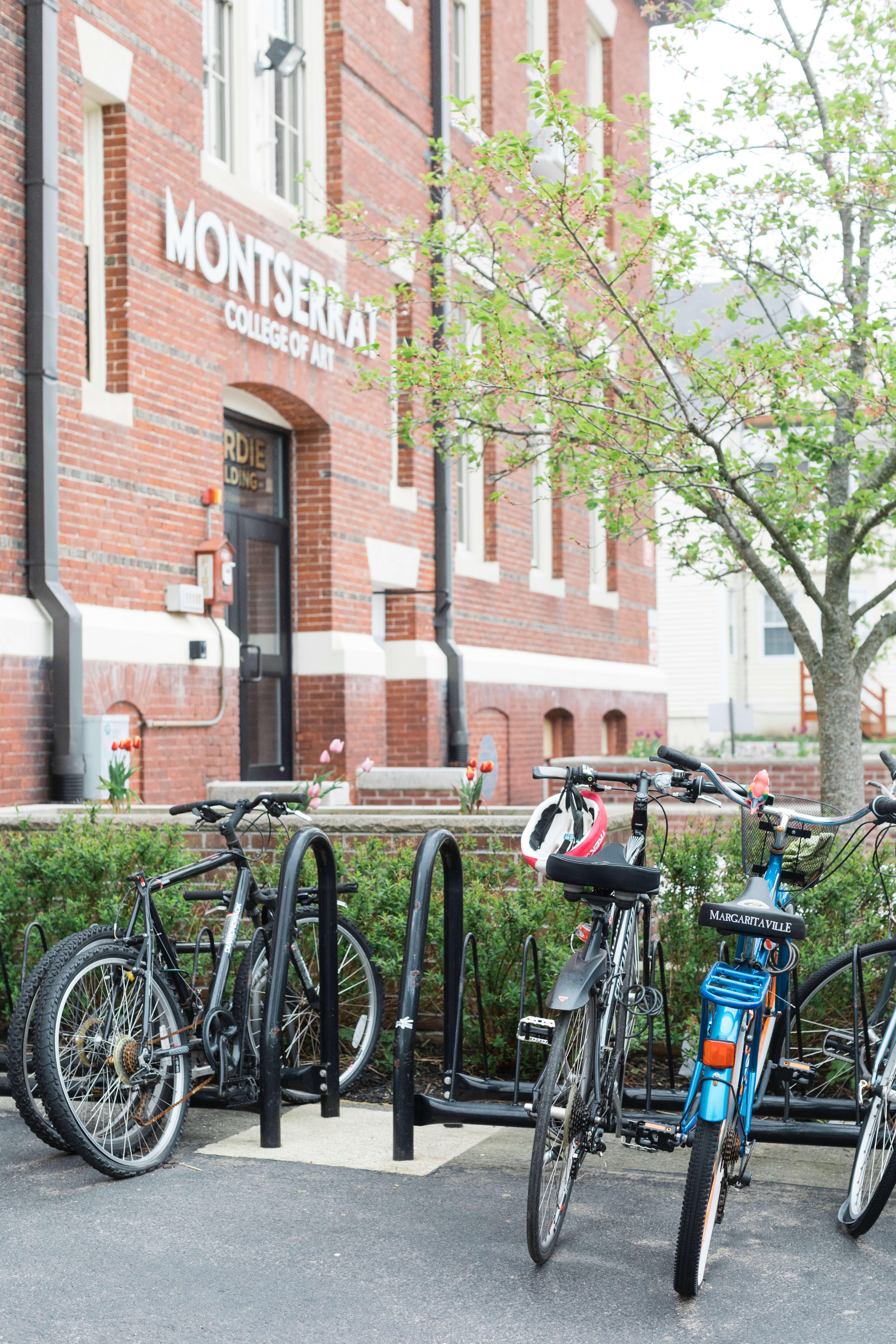 Bike Rack near front of Hardie Building