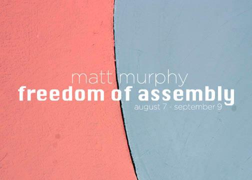 Matt Murphy- Freedom of Assembly