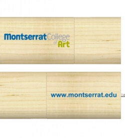 Montserrat College of Art Logo USB