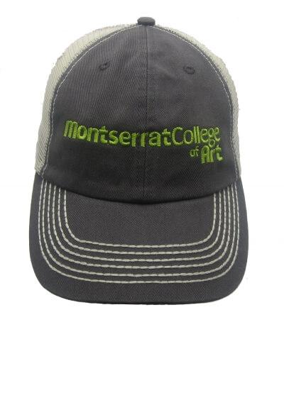Montserrat College of Art Logo Cap