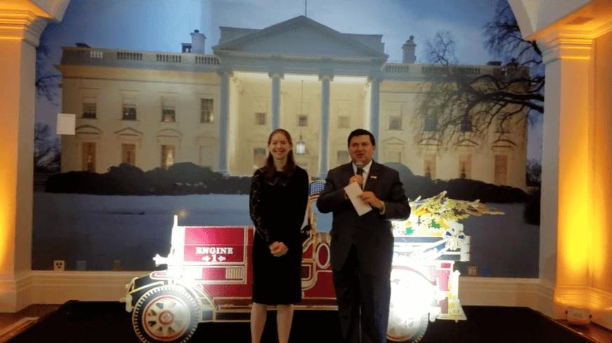 Kayla Whelan's White House Ornament Award
