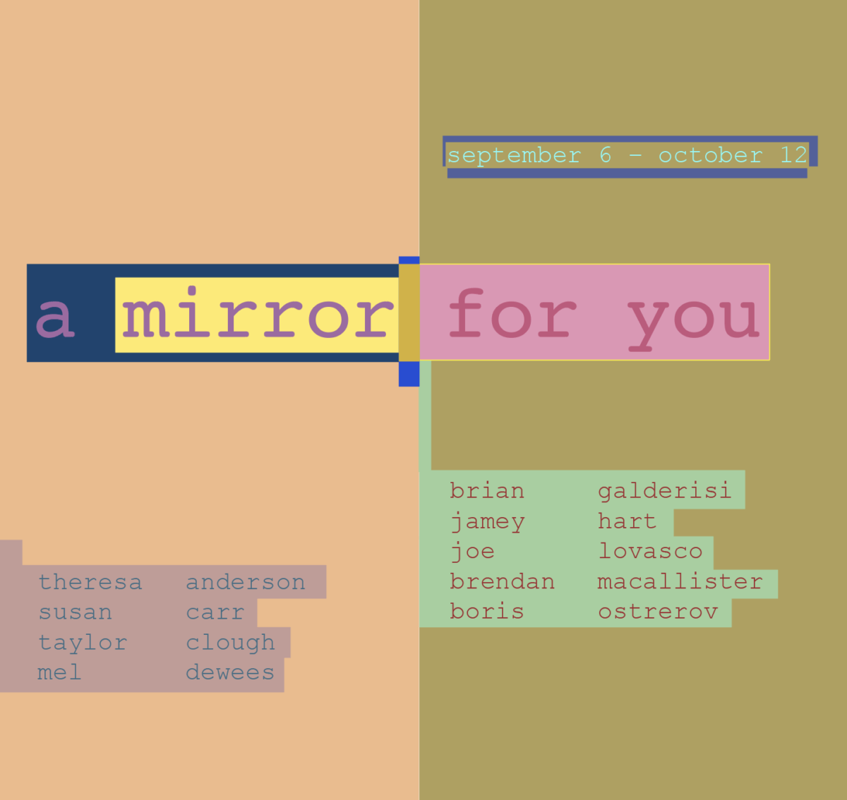 A Mirror for You