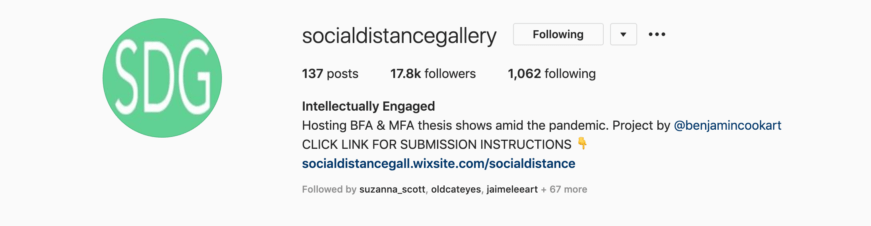 Social Distance Gallery