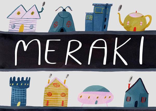 Meraki Showcard