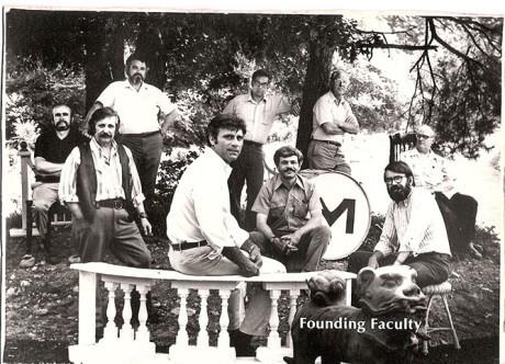 Montserrat's Founding Faculty