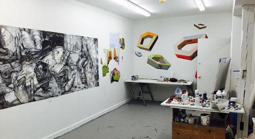 Barbara Moody's Studio